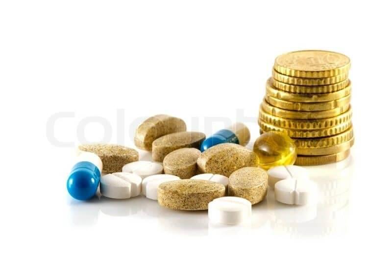 Geld medicijnen